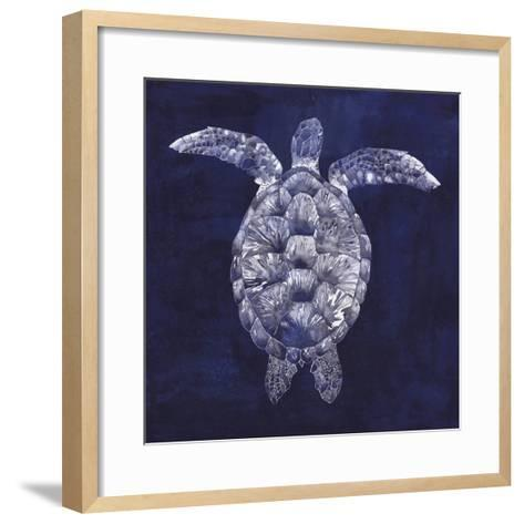 Sea Turtle Shadow I-Grace Popp-Framed Art Print