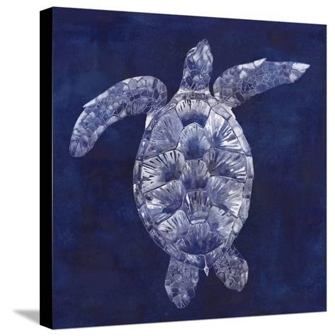 Sea Turtle Shadow II-Grace Popp-Stretched Canvas Print