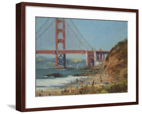 Baker's Beach-Chuck Larivey-Framed Art Print