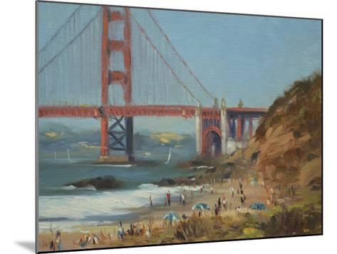 Baker's Beach-Chuck Larivey-Mounted Giclee Print