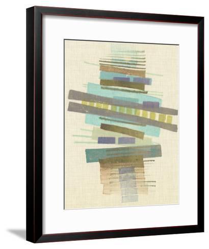 Balancing I-Nikki Galapon-Framed Art Print