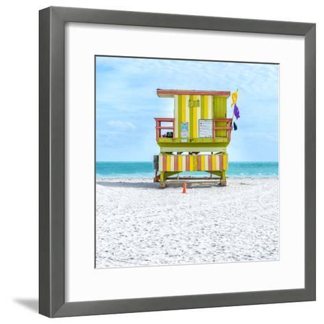Miami Beach IX-Richard Silver-Framed Art Print