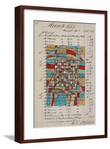 Journal Sketches V-Nikki Galapon-Framed Art Print
