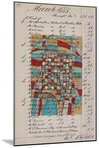Journal Sketches V-Nikki Galapon-Mounted Limited Edition