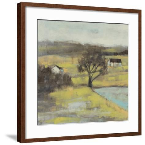 Pastoral Mist II-Jennifer Goldberger-Framed Art Print