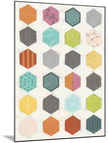 Pattern Interaction I-June Vess-Mounted Art Print