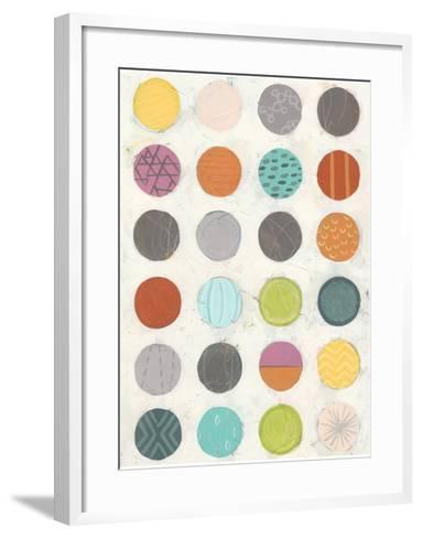 Pattern Interaction II-June Vess-Framed Art Print