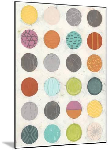 Pattern Interaction II-June Vess-Mounted Art Print