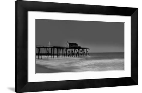 Belmar Pier-James McLoughlin-Framed Art Print