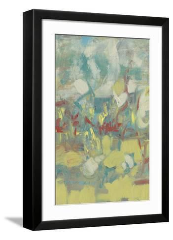 Graffiti Abstract I-Jennifer Goldberger-Framed Art Print