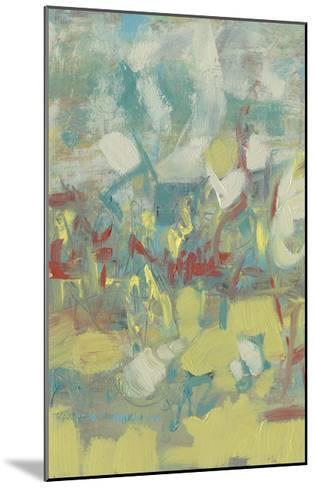 Graffiti Abstract I-Jennifer Goldberger-Mounted Limited Edition