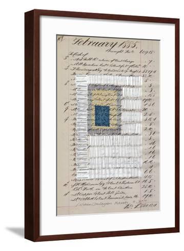 Journal Sketches XIV-Nikki Galapon-Framed Art Print