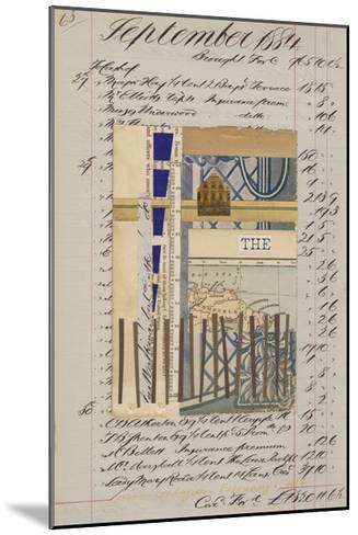 Journal Sketches XVI-Nikki Galapon-Mounted Limited Edition