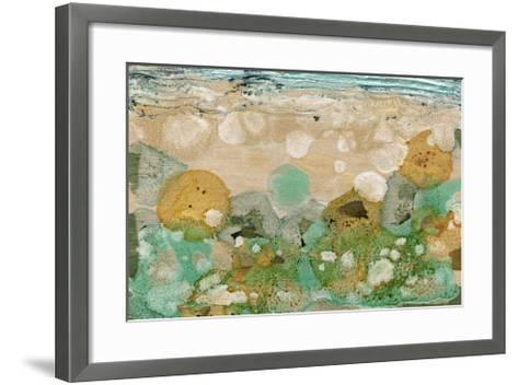 Beneath the Waves II-Alicia Ludwig-Framed Art Print