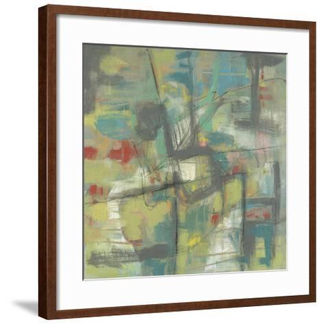 Kinetic Pastel II-Jennifer Goldberger-Framed Art Print