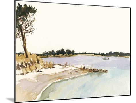 Minimalist Coastline I-Dianne Miller-Mounted Art Print