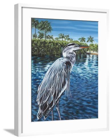 Peaceful Heron I-Carolee Vitaletti-Framed Art Print