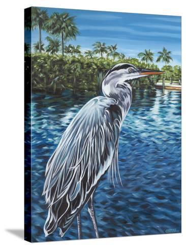 Peaceful Heron I-Carolee Vitaletti-Stretched Canvas Print