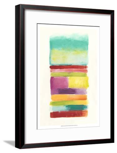 Layer Cake III-June Vess-Framed Art Print
