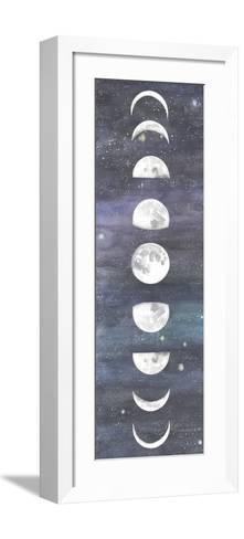 Moon Chart I-Naomi McCavitt-Framed Art Print