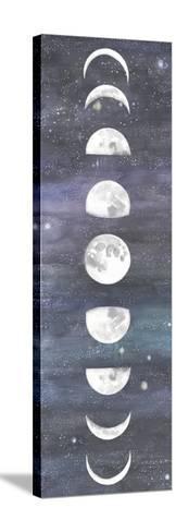 Moon Chart I-Naomi McCavitt-Stretched Canvas Print