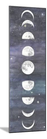 Moon Chart I-Naomi McCavitt-Mounted Art Print