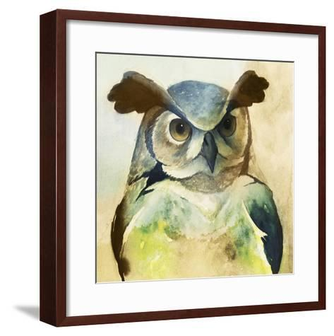 Harlequin Hibou II-Grace Popp-Framed Art Print