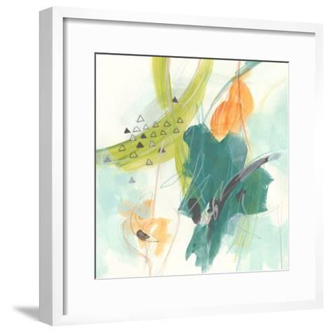 Skipping Stones I-June Vess-Framed Art Print