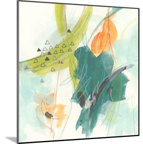 Skipping Stones I-June Vess-Mounted Art Print