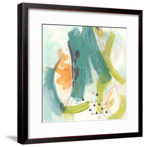 Skipping Stones II-June Vess-Framed Art Print