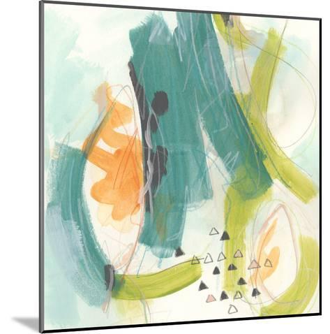 Skipping Stones II-June Vess-Mounted Art Print
