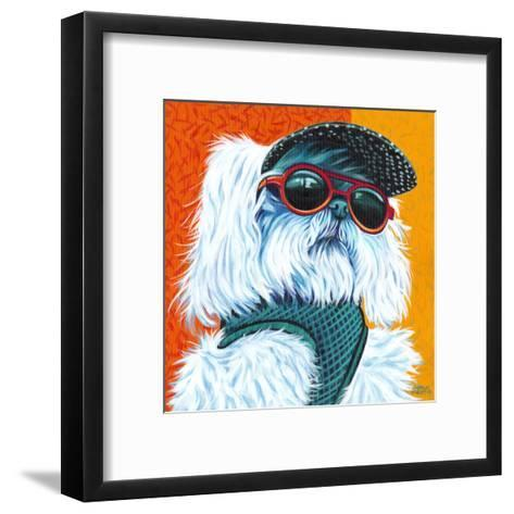 Cute Pups IV-Carolee Vitaletti-Framed Art Print