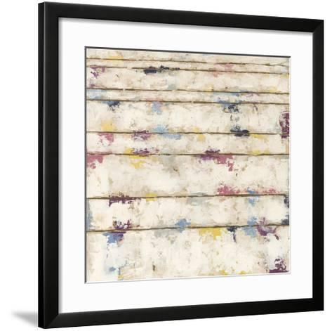Lined Abstract I-Megan Meagher-Framed Art Print