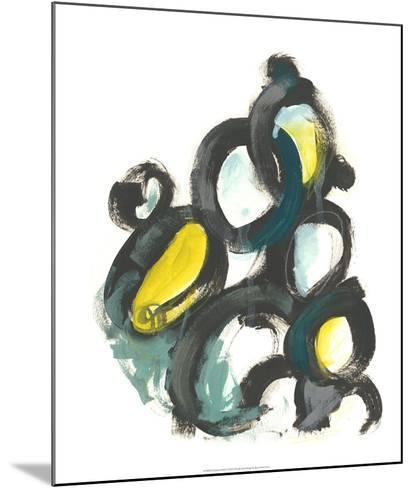 Linked Ovals I-June Vess-Mounted Giclee Print