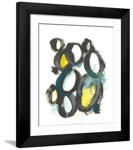 Linked Ovals II-June Vess-Framed Art Print