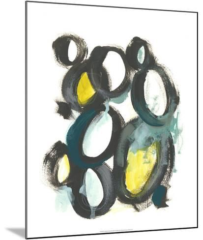 Linked Ovals II-June Vess-Mounted Giclee Print