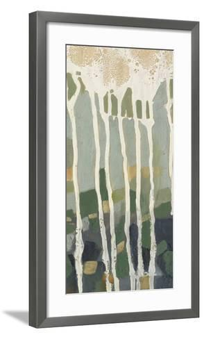 Mosaic Treeline II-Jennifer Goldberger-Framed Art Print