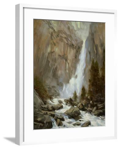 Yosemite Falls-Chuck Larivey-Framed Art Print