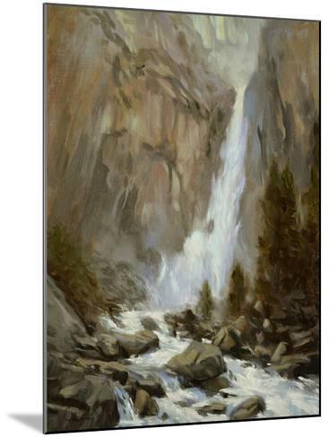 Yosemite Falls-Chuck Larivey-Mounted Giclee Print