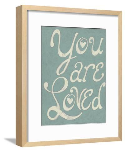 You Are Loved-Chariklia Zarris-Framed Art Print