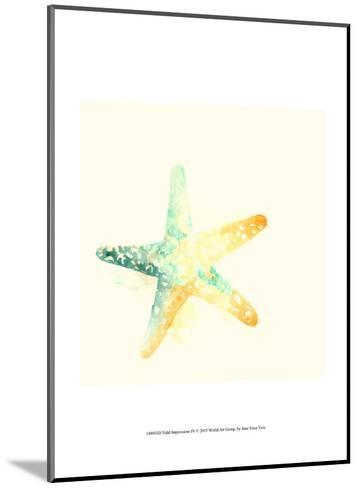 Tidal Impressions IV-June Vess-Mounted Art Print