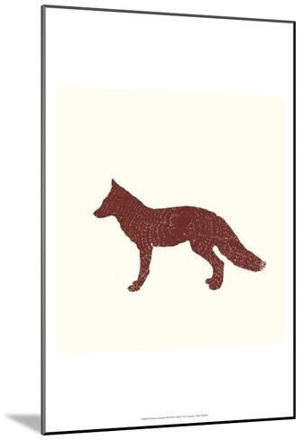 Timber Animals III-Anna Hambly-Mounted Art Print
