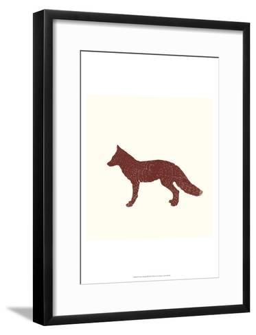 Timber Animals III-Anna Hambly-Framed Art Print