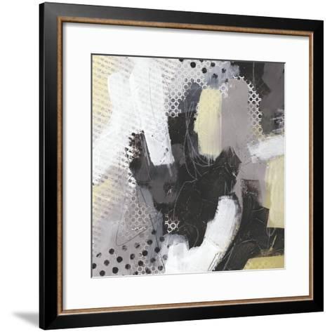 Tonal Gesture III-June Vess-Framed Art Print