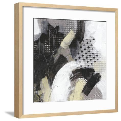 Tonal Gesture IV-June Vess-Framed Art Print