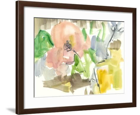 Whimsy in The Garden II-Jennifer Goldberger-Framed Art Print