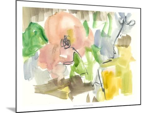 Whimsy in The Garden II-Jennifer Goldberger-Mounted Giclee Print