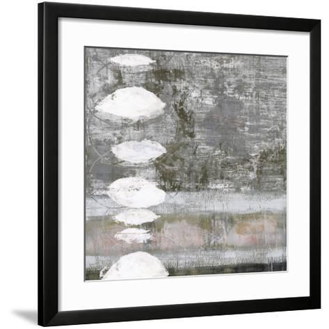 White Orbs II-Jennifer Goldberger-Framed Art Print