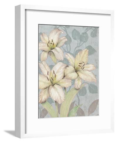 Trois Fleurs I-Tim OToole-Framed Art Print