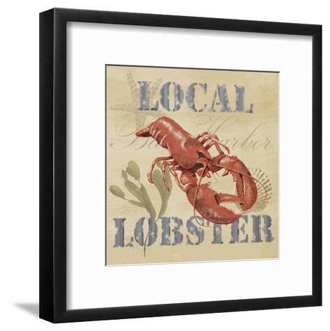 Wild Caught Lobster-Jade Reynolds-Framed Art Print